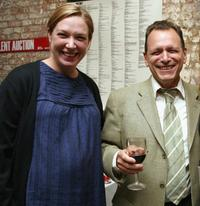 Elizabeth Marvel and Michael Weller at the Cherry Lane Theater Gala.