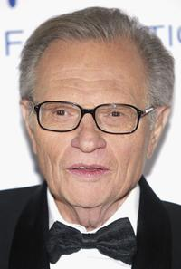 Larry King at the Alfred Mann Foundation's Second Annual Evening of Innovation and Inspiration' honoring Larry King.