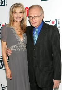 Larry King and Shawn Southwick at the