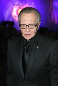 Larry King at an evening with Larry King and friends charity fundraiser.