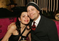 Terry Kinney and Julianna Margulies at the