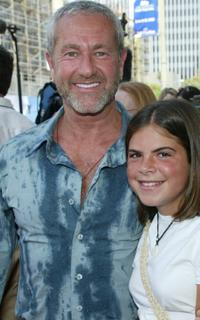 Charlie Adler and his guest at the premiere of