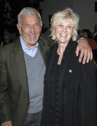 Jack Klugman and Peggy Crosby at the Al Pacino stars in Oscar Wilde's