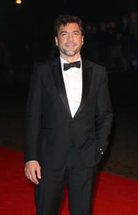 Javier Bardem at the after party of the Royal world premiere of