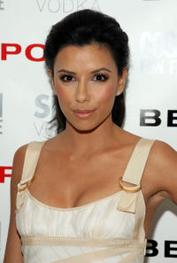 Eva Longoria Parker at a party for Cosmopolitan and Bebe to celebrate her as the New Face of Bebe Sport in Los Angeles.