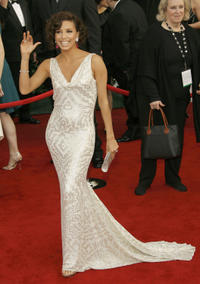 Eva Longoria Parker at the 14th annual Screen Actors Guild awards in Los Angeles.