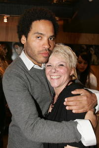 Lenny Kravitz and Leigh Blake at the