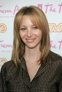 Lisa Kudrow at the Cracked Xmas 8 benefitting the Trevor Project.