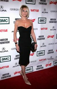 Ellen Barkin at the 21st Annual American Cinematheque Award Honoring George Clooney.