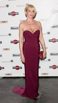 Ellen Barkin at the party to promote
