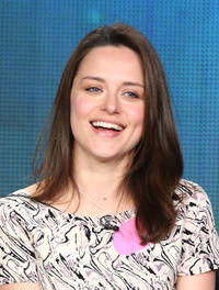 Zoe Tapper at the day 2 of the 2013 Winter TCA Tour.