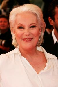 Bernadette Lafont at the 60th International Cannes Film Festival.