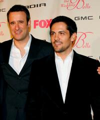 Benjamin King and Michael Landes at the premiere of