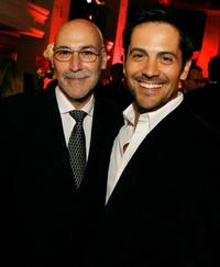 Jonathan Pontell and Michael Landes at the after party reception of