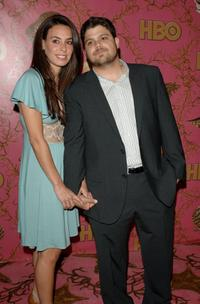Alexis and Jerry Ferrara at the HBO Post Emmy Party.