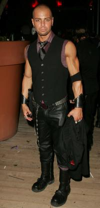 Joey Lawrence at the Cystic Fibrosis Foundation party.