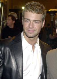 Joey Lawrence at the Warner Brother Network's Anniversary party.