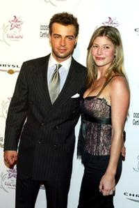 Joey Lawrence and Michelle at the Lili Claire Foundation's 6th Annual Benefit.