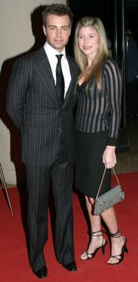 Joey Lawrence and Michelle at the Fifth Annual Hollywood Makeup Artist and Hairstylist Guild Awards.