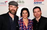 Brian F. O'Byrne, Heather Goldenhersh and Eugene Downes at the 5th Annual Oscar Wilde: Honoring The Irish In Film.