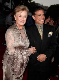 Cloris Leachman and Guest at the premiere of