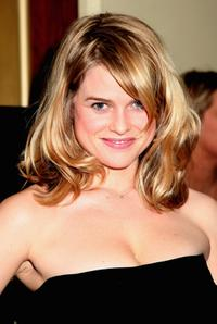 Alice Eve at the Soho House Grey Goose After Party.