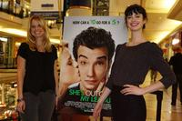 Alice Eve and Krysten Ritter at the