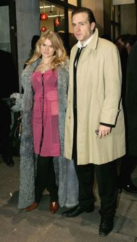 Alice Eve and Rafe Spall at the UK premiere of