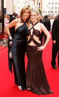Sharon Maughan and Alice Eve at the Pioneer British Academy Television Awards.