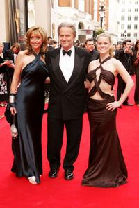 Sharon Maughan, Trevor Eve and Alice Eve at the Pioneer British Academy Television Awards.