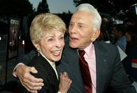 Janet Leigh and Kirk Douglas at the premiere of MGM's