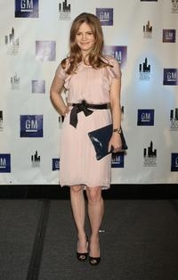 Jennifer Jason Leigh at the 27th Annual New York Women In Film & Television's Muse Awards.