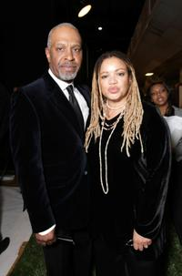 James Pickens Jr. and Kasi Lemmons at the 39th NAACP Image Awards.