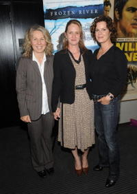 Courtney Hunt, Melissa Leo and Marcia Gay Harden at the screening of