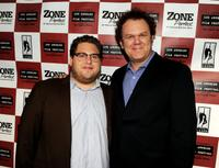 Jonah Hill and John C. Reilly at the California premiere of