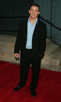 Channing Tatum at the N.Y. premiere of