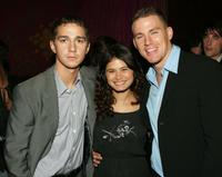 Shia LeBeouf, Melanie Diaz and Channing Tatum at the after party of the premiere of