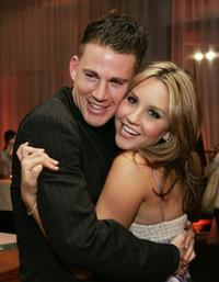 Channing Tatum and Amanda Bynes at the after party of the premiere of
