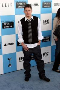 Channing Tatum at the 22nd Annual Film Independent Spirit Awards.