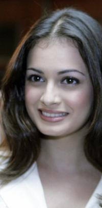 Diya Mirza at the press conference to announce the details of the IIFA weekend 2005 and the IIFA awards.