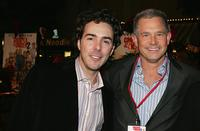 Shawn Levy and Hutch Parker at the Los Angeles premiere of