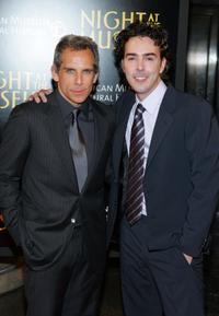 Shawn Levy and Ben Stiller at the New York premiere of