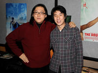 Director Kenneth Bi and Jaycee Chan at the premiere  of