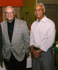 Hal Linden and Ron Glass at the