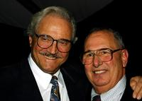 Hal Linden and George Spiro Dibie at the 75th Anniversary Gala during the grand opening of International Cinematographers Guild's new headquarters.