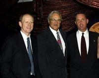 Ron Howard, Hal Linden and Thomas C. Short at the 75th Anniversary Gala during the grand opening of International Cinematographers Guild's new headquarters.