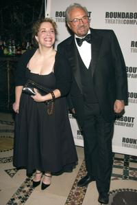 Claudia Shear and Hal Linden at the Roundabout Theater Company's 2002 Spring Gala.