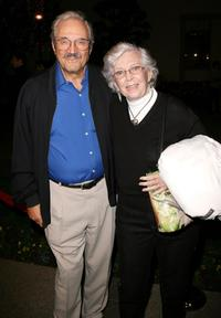 Hal Linden and Guest at the special screening of