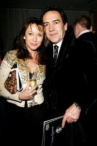 Cherie Lungi and Robert Lindsay at the VIP performance of