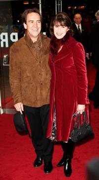 Robert Lindsay and Rosemarie Ford at the world premiere of
